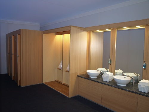 Luxury Marquee Toilets for Men - Byrne Marquees